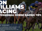 Ron Williams Racing : Horse Racing Tipster