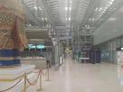 Suvarnabhumi Airport , Deserted airport