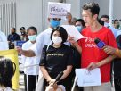 Pro-democracy activists rally at Japan embassy to support Pavin