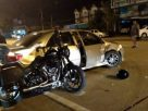 Couple riding a Harley-Davidson injured in road crash