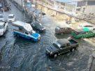Flash floods in Samut Prakan, Chonburi as sea levels rise