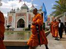 Monks reach Pattani mosque on 4,000km pilgrimage to unite religions